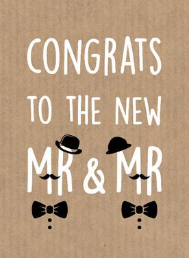 Fonkelnieuw Tekst kaartje felicitatie bruiloft. Gefeliciteerd met het huwelijk XJ-28