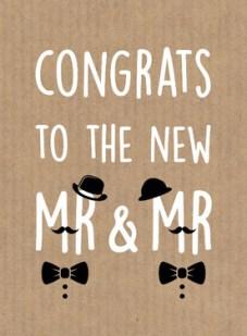 Tekst kaart felicitatie bruiloft