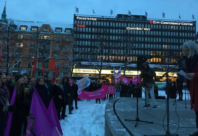 8 Mars 2017-Stockholm