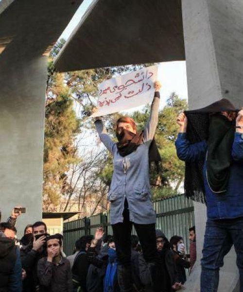 Women Struggle in Iran-Dey 1396