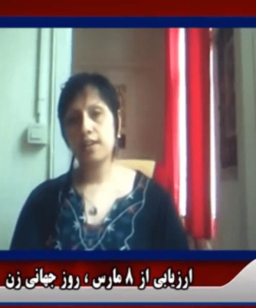 TV Interview-8 March _Fariba