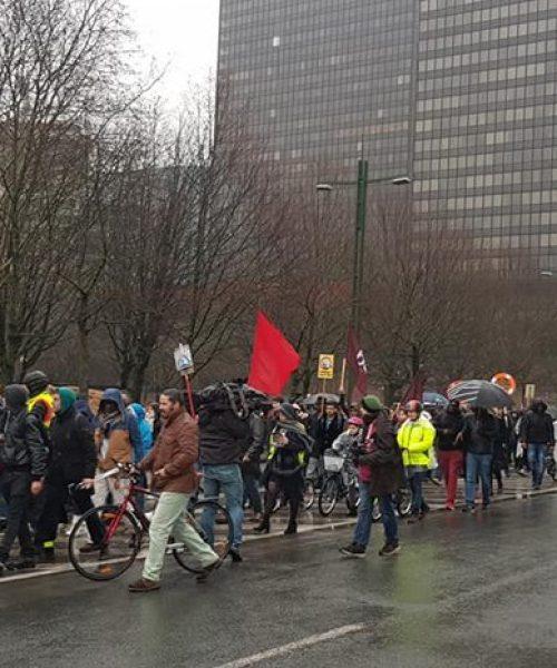 گزارش تظاهرات «عدالت مهاجرت!»/شنبه ۱۲ ژانویه ۲۰۱۹ – بروکسل /بلژیک