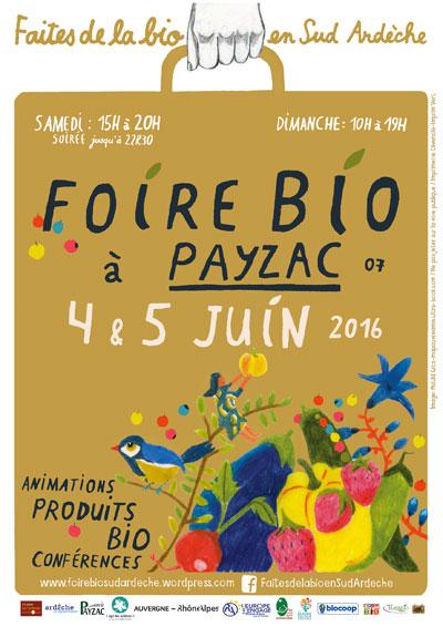 Foire bio de Payzac