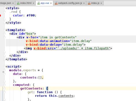 phpstormで.vueファイルにカラースキーマを設定する