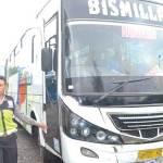 Pemotor Tewas Dilindas Bus di Rogojampi