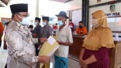 Sudah 60 Persen Disalurkan, Wabup Sugirah Tinjau Penyaluran Bansos Tunai