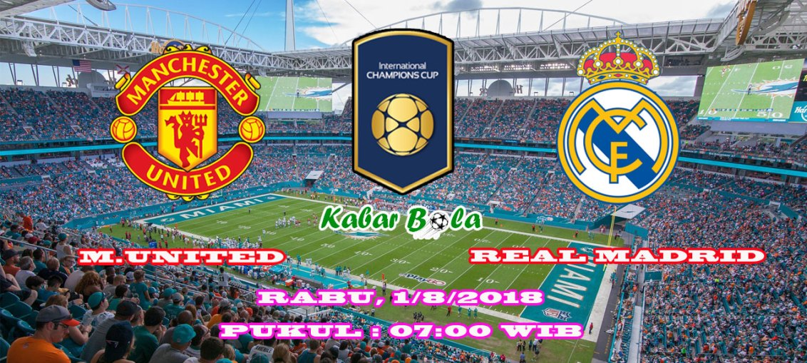 kabarbola - Manchester United vs Real Madrid