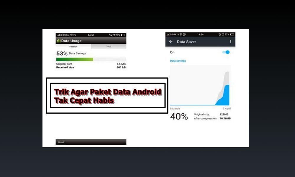 Ampuh, 2 Cara Menghemat Kuota Internet di Android