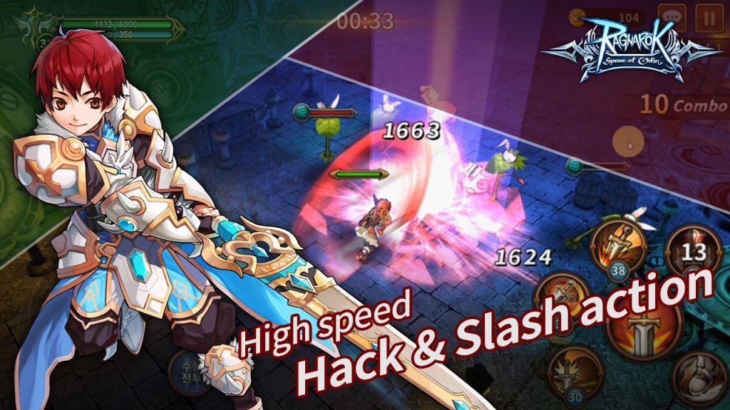 Aksi Kecepatan Tinggi Hack dan Slash