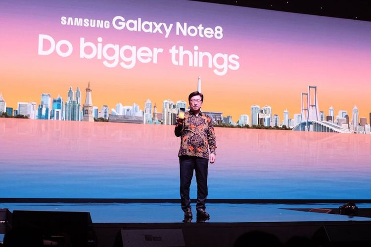 Galaxy Note 8 di Indonesia