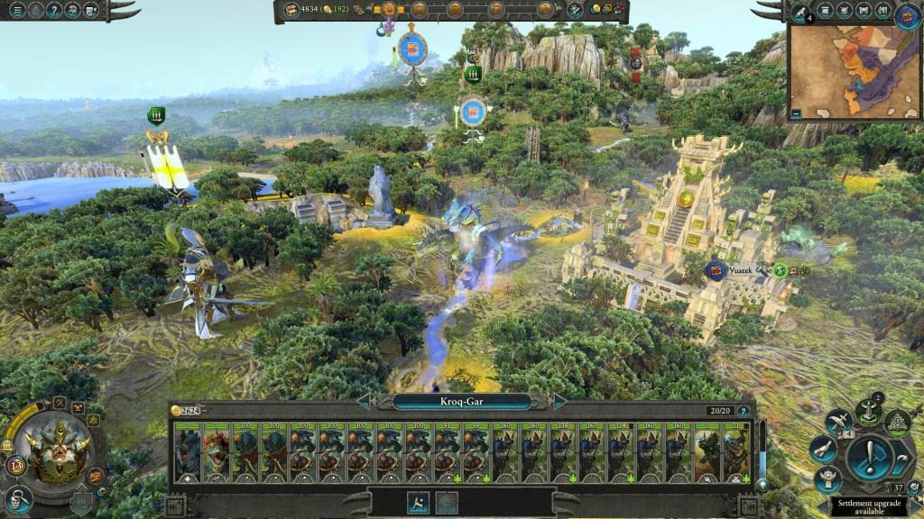 Pengaturan Pasukan Total War Warhammer II