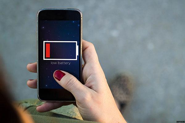 tanda hp terkena Virus - low-battery
