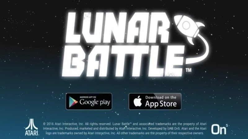 Lunar Battle Mobile Dirilis Atari