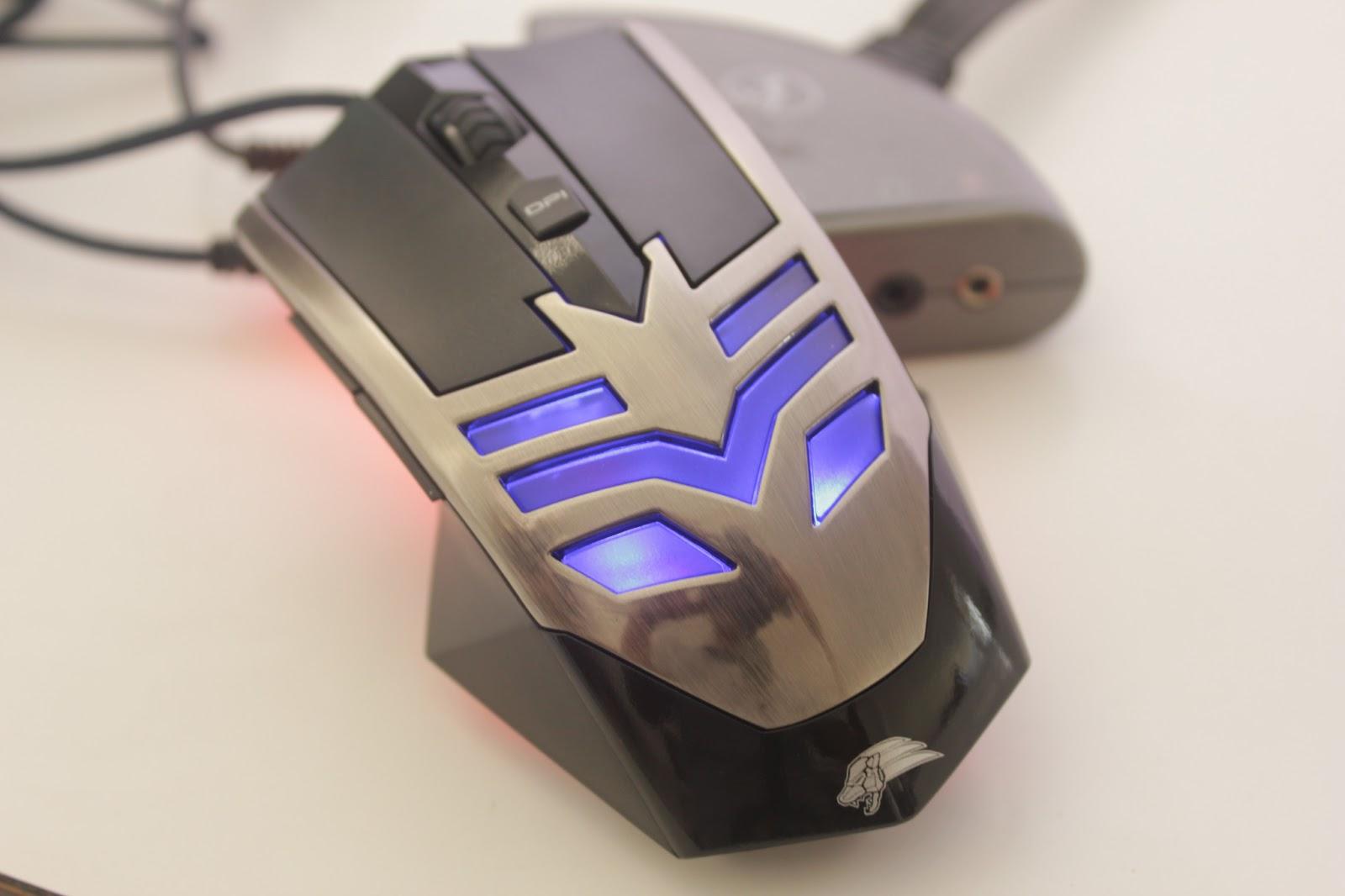 Rekomendasi Mouse Gaming Murah, Berkualitas, dan Terbaik - Okaya Gaming Mouse G-300U