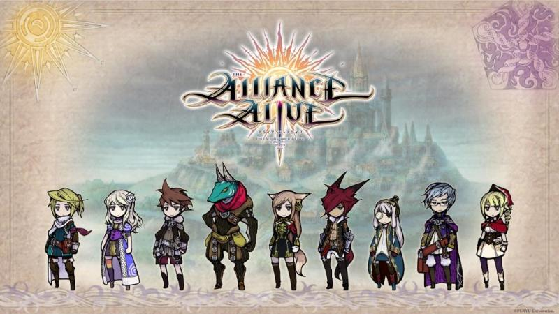 The Alliance Alive, Game JRPG Petualangan Klasik