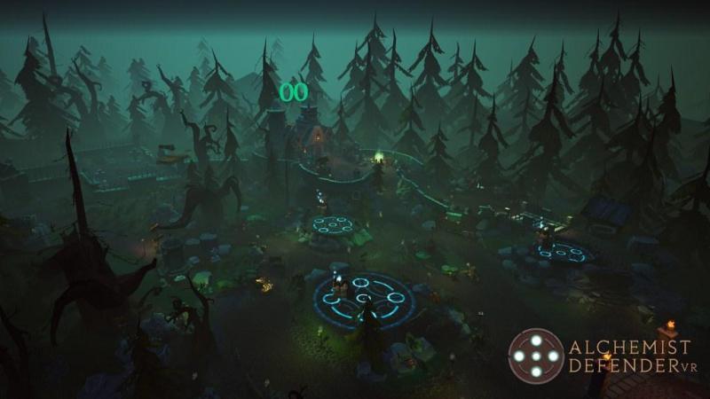 Alchemist Defender, Game VR Mirip Tower Defense