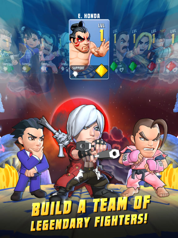 Buat Tim Legendaris Pada Puzzle Fighter