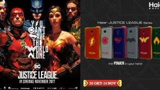 Smartphone Haier Edisi Justice League Resmi Rilis di Indonesia