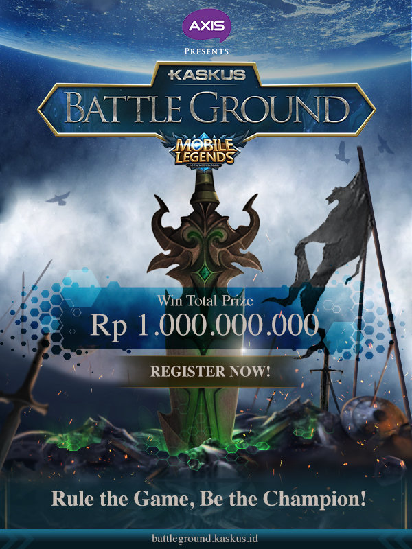 Hadiah Kaskus Battleground Mobile Legends