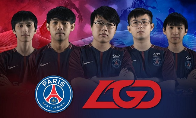 PSG LGD, Tim Paris Saint Germain di DotA 2