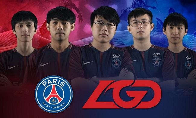 PSG LGD: Team Paris Saint Germain di DotA 2
