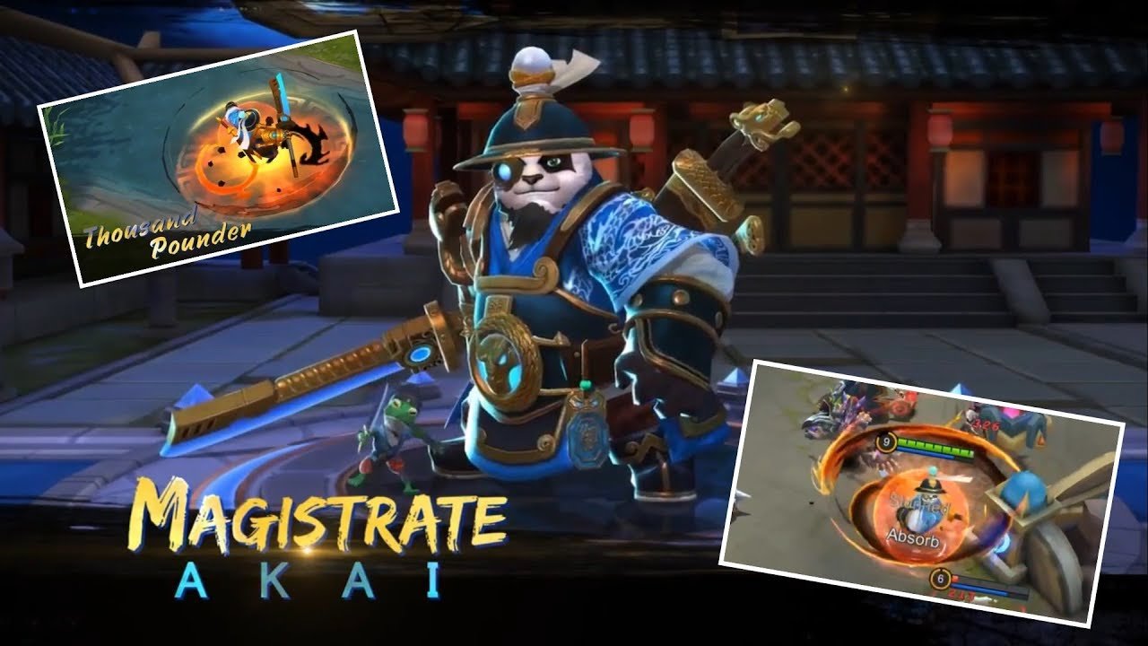 Akai Magistrate Skill