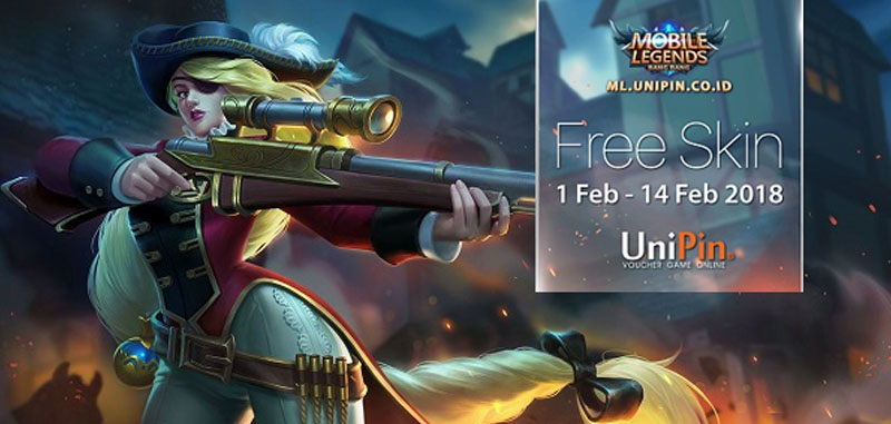 Top Up Event Unipin Berhadiah Skin Mobile Legends