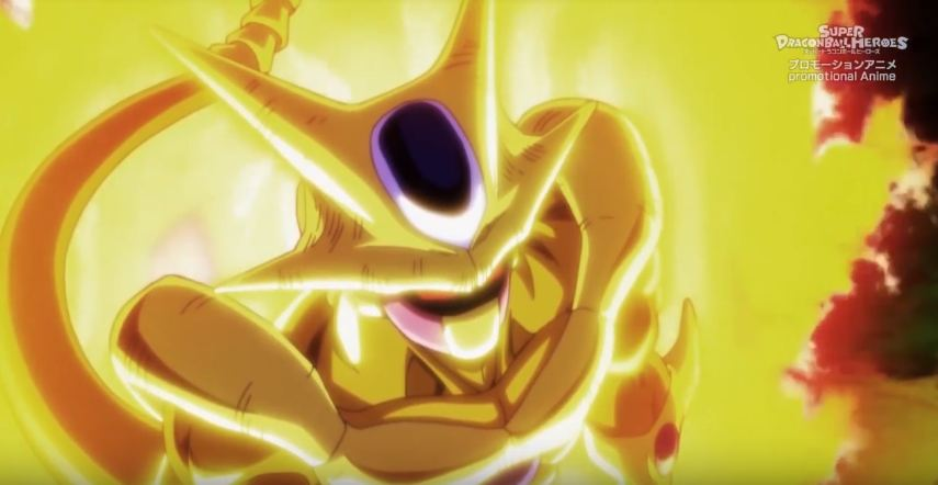 Golden Cooler, Dragon Ball Heroes Episode 2