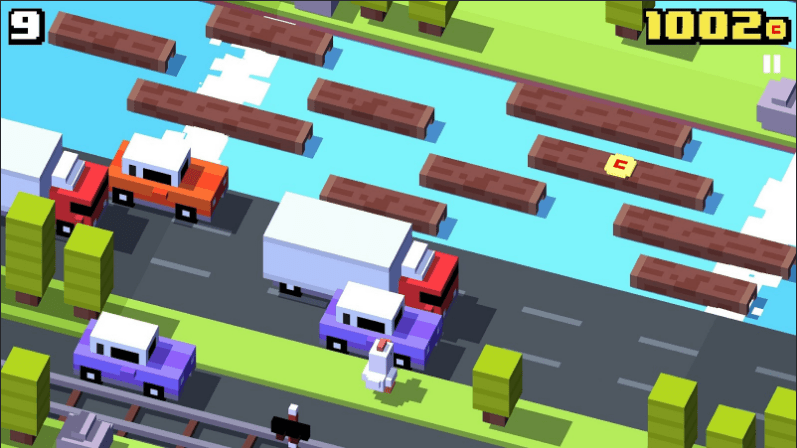 Game Offline Android Crossy Road