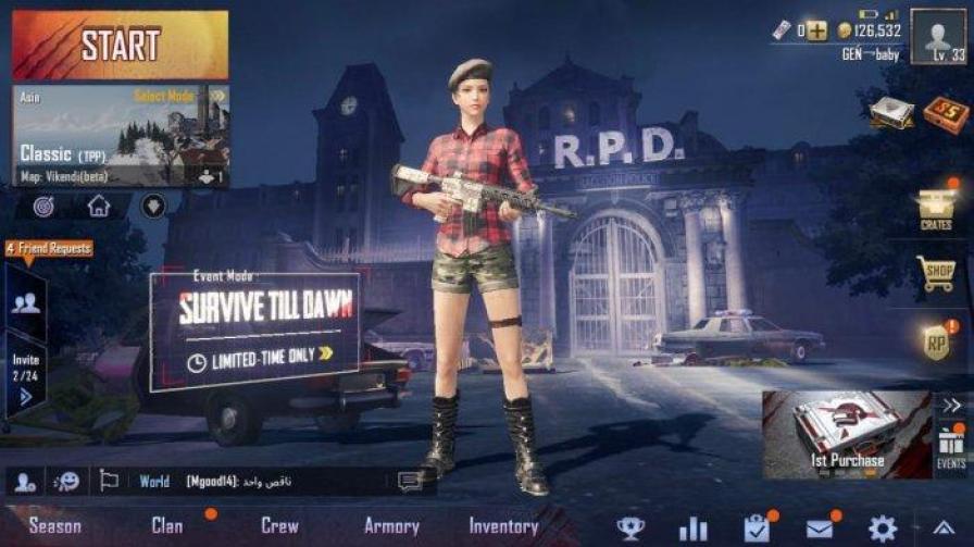 Mode Zombie Survive Till Dawn