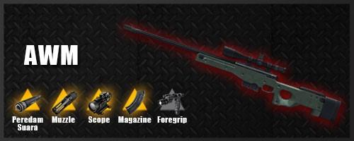 Senjata Free Fire Terbaik AWM