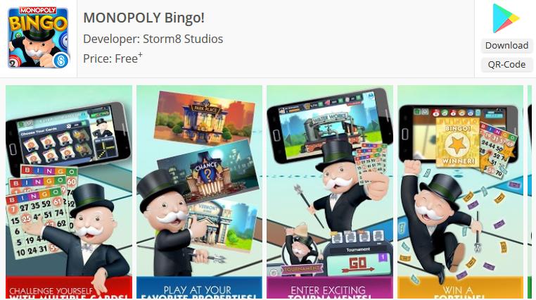 game Monopoly bingo