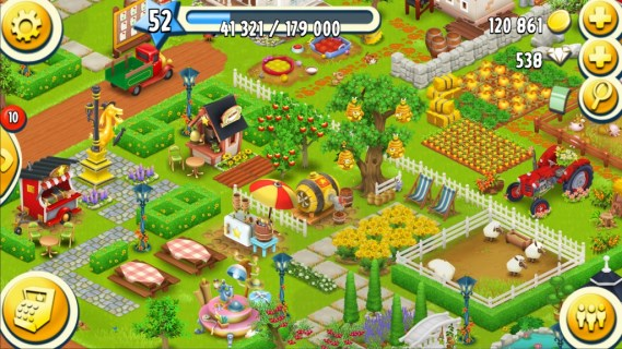 Game pertanian mirip Harvest Moon - hay-day