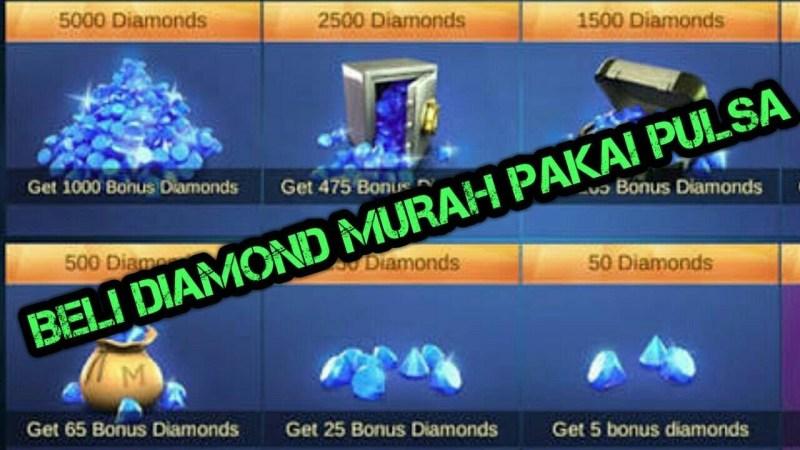 Cara Beli Diamond Mobile Legends Pakai Pulsa di 2020