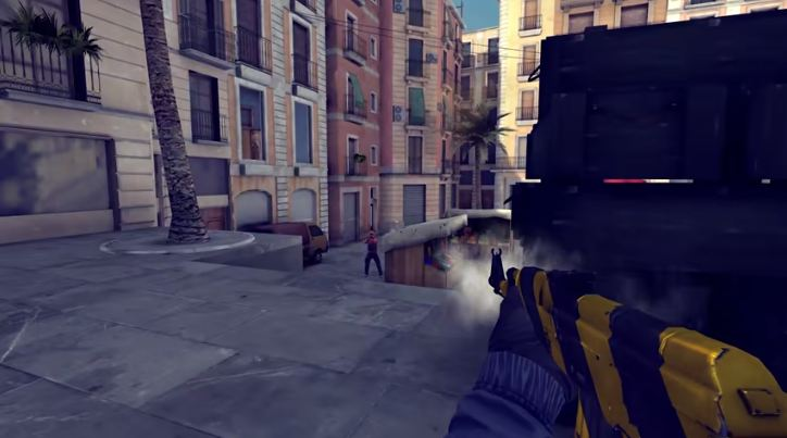 Game Shooter Critical Ops