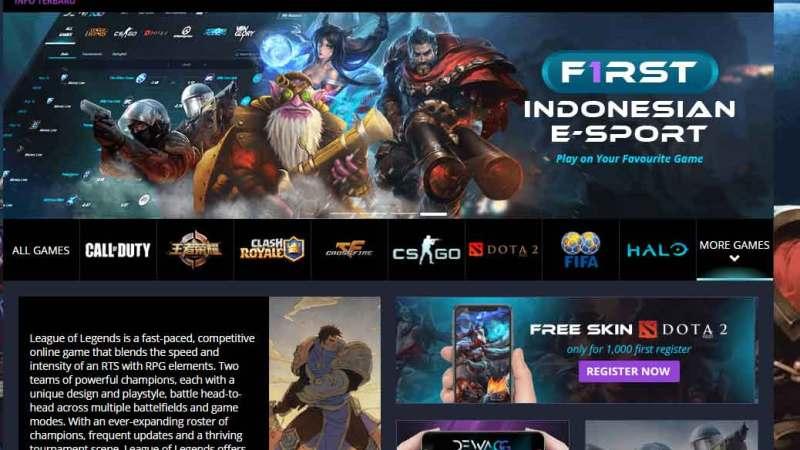DewaGG: Situs eSports Kredibel Penghasil Uang