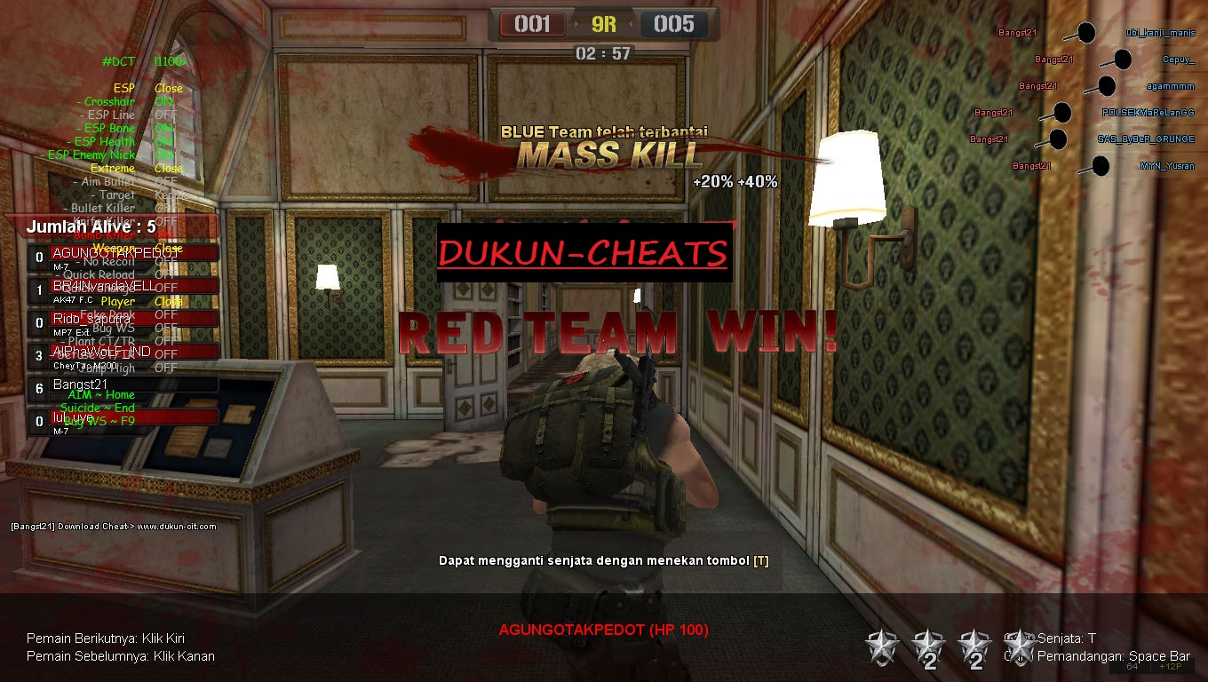 Dukun Cit: Sumbernya Cheat Point Blank Evolution