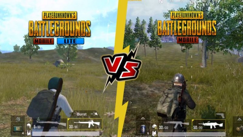 PUBG Mobile vs PUBG Lite = Hp Dewa vs Hp Kentang?