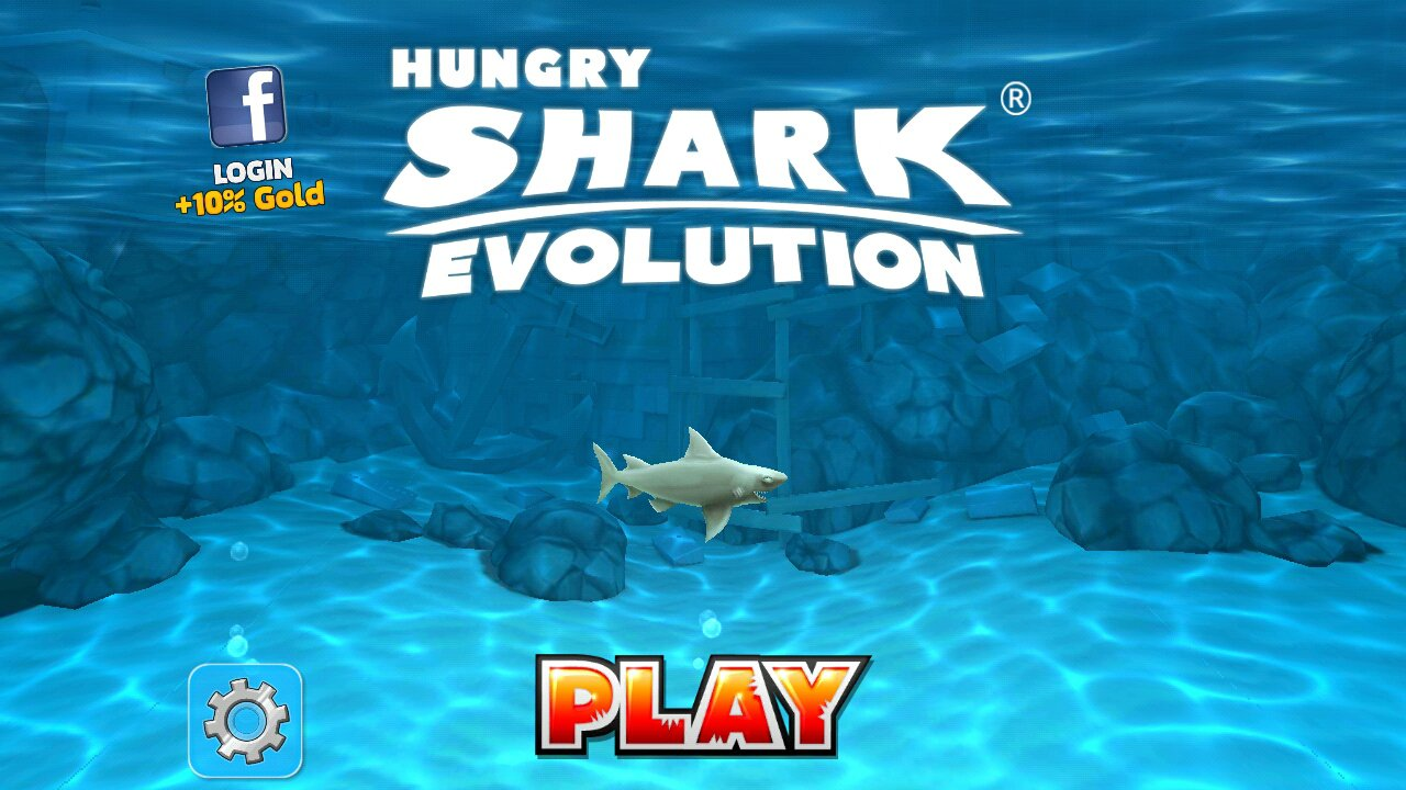 review hungry shark evolution