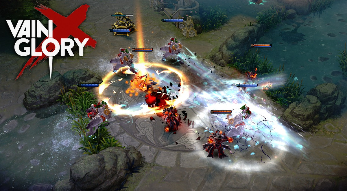 Game mirip Mobile legends - Vainglory