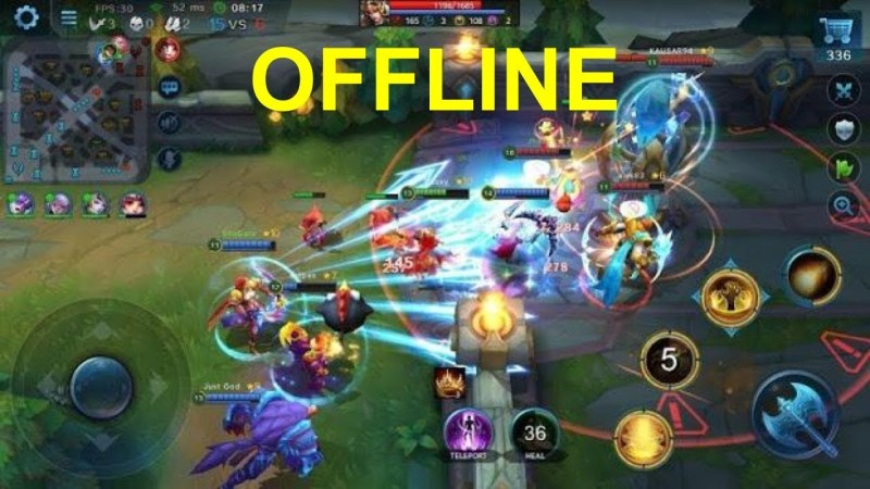 10 Game MOBA Offline Mirip Mobile Legends (ML) di 2020