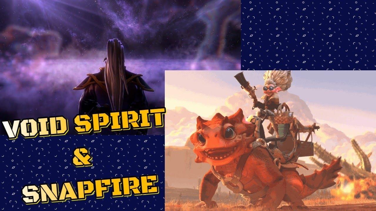 Void Spirit dan Snapfire