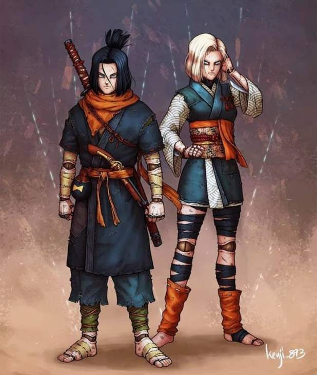 Samurai Zoid 17 dan 18