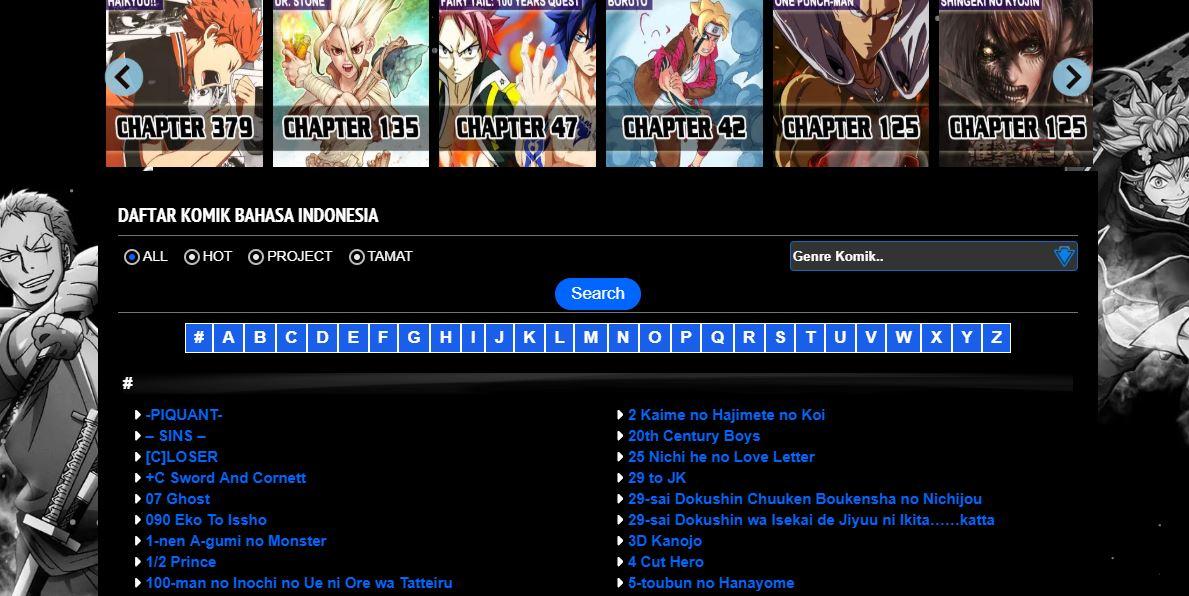 situs baca komik mangaku