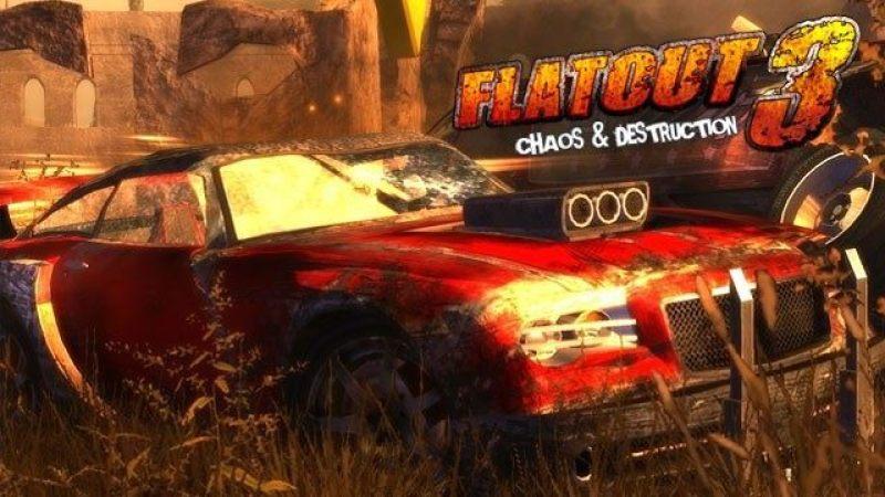game terburuk FlatOut 3: Chaos and Destruction