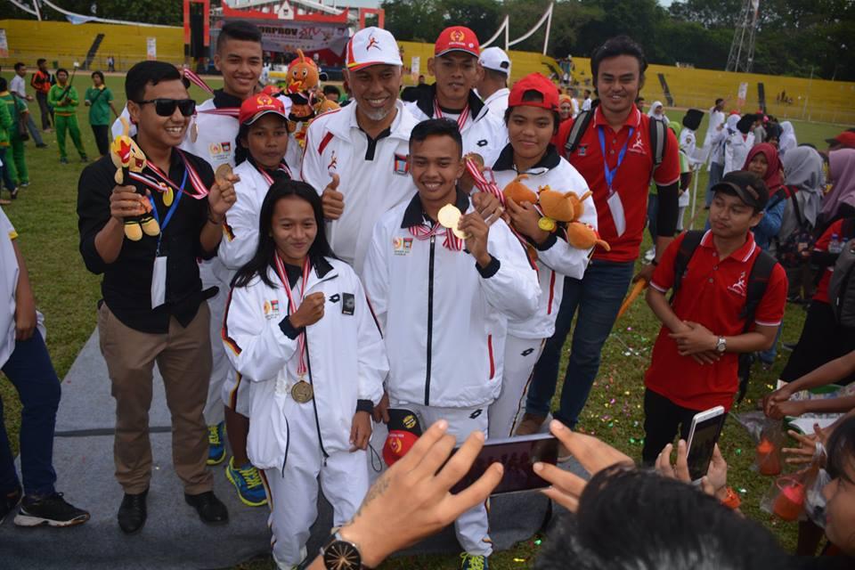 Penutupan Pekan Olahraga Provinsi Sumatera Barat