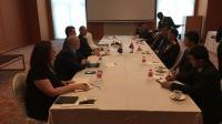 Kepala Badan Reserse dan Kriminal (Bareskrim) Mabes Polri, Komjen Pol Ari Dono Sukmanto pada konferensi ASEANAPOL di Singapura.