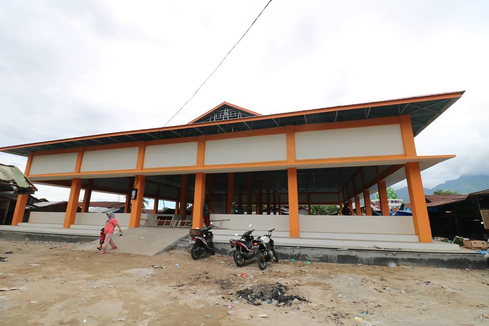 Pembenahan Pasar Belimbing oleh Pemerintah Kota Padang
