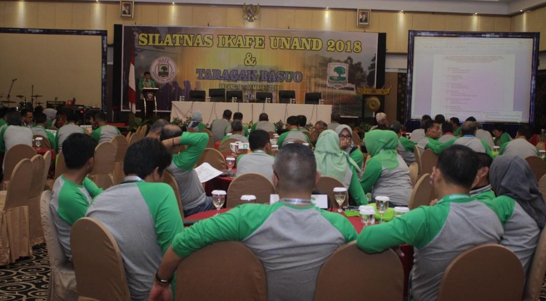 Silaturahmi Nasional Ikatan Keluarga Alumni Fakultas Ekonomi Universitas Andalas (Silatnas Ikafe Unand), Sabtu (17/3/2018)