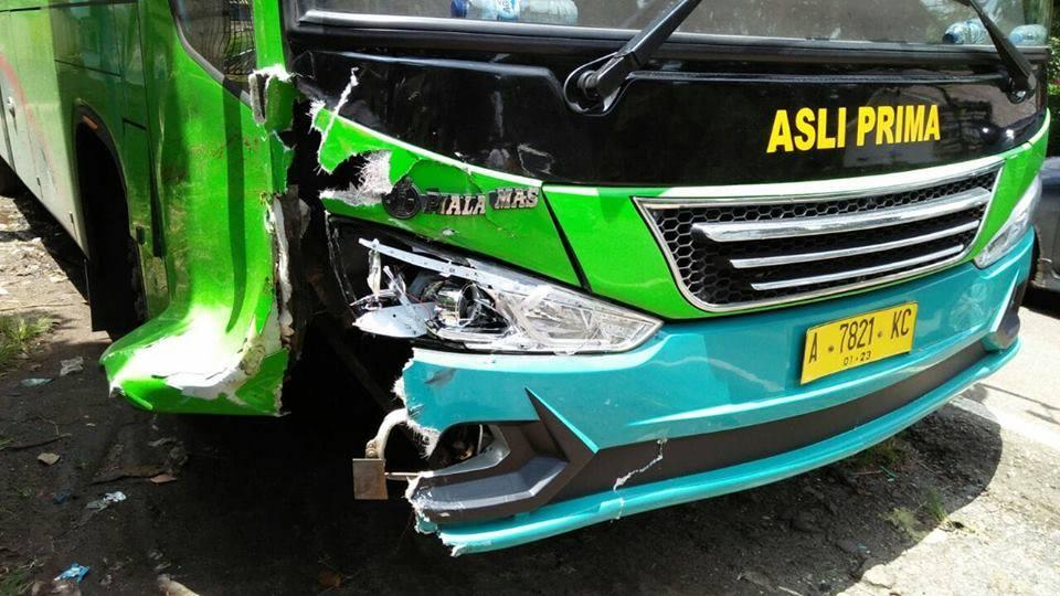 Kecelakaan Maut, Tabrakan Bus Lintas Kota dan Sepeda Motor